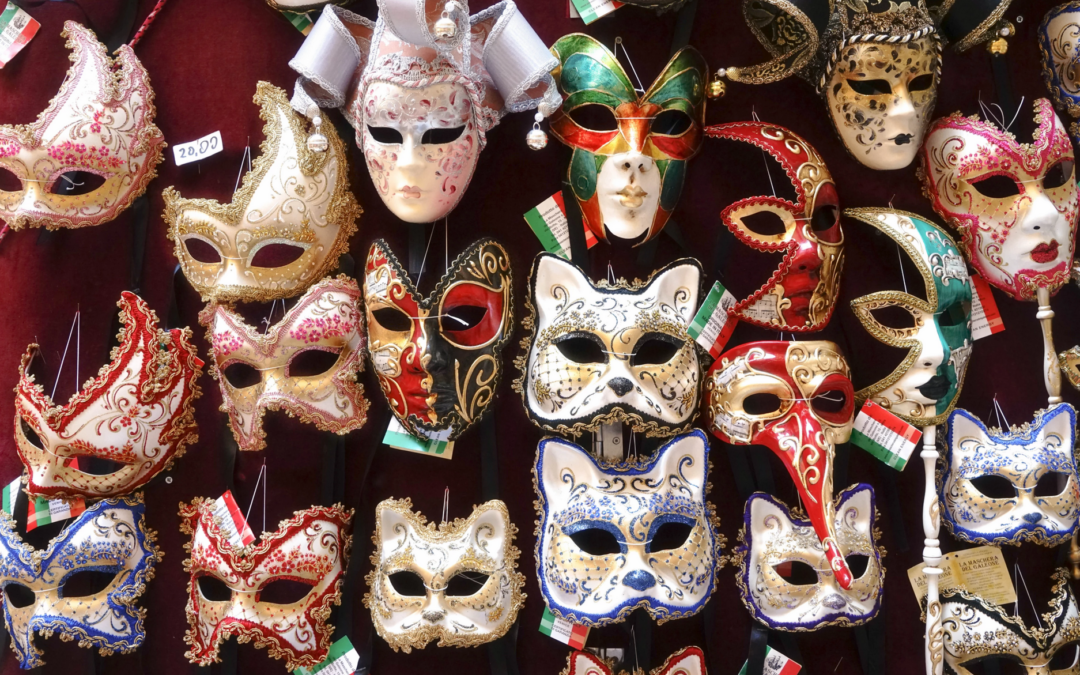The Masks We Wear (not talking Covid or Halloween)