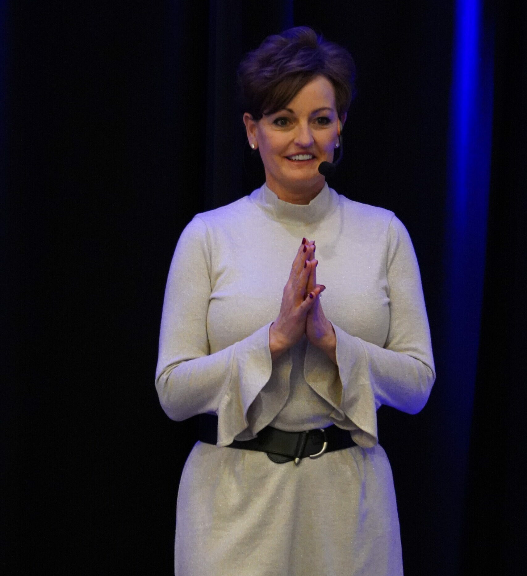 Darla speaking - Thriving during Transition
